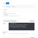 Screenshot of Zerodrop's new entry page